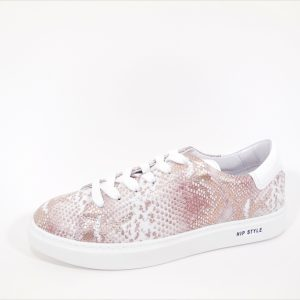 Basket snake rose metallic